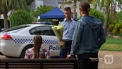 Paige Novak, Mark Brennan, Tyler Brennan in Neighbours Episode 7131