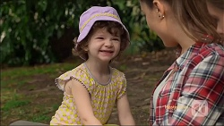 Nell Rebecchi, Paige Novak in Neighbours Episode 7131