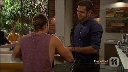 Tyler Brennan, Nate Kinski in Neighbours Episode 7132