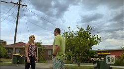 Georgia Brooks, Toadie Rebecchi in Neighbours Episode 7132