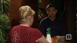 Sheila Canning, Nate Kinski in Neighbours Episode 7132