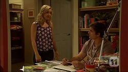Georgia Brooks, Kyle Canning in Neighbours Episode 7132