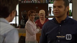 Alistair Hall, Susan Kennedy, Sheila Canning, Nate Kinski in Neighbours Episode 7132