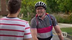 Josh Willis, Karl Kennedy in Neighbours Episode 7133