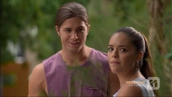 Tyler Brennan, Paige Smith in Neighbours Episode 7133