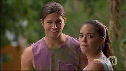 Tyler Brennan, Paige Novak in Neighbours Episode 7133