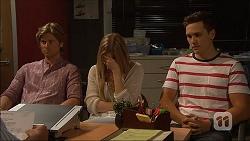 Daniel Robinson, Amber Turner, Josh Willis in Neighbours Episode 7133