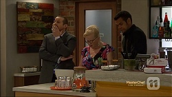 Toadie Rebecchi, Sheila Canning, Nate Kinski in Neighbours Episode 7134