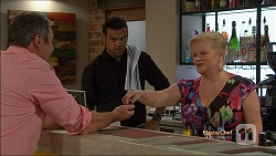 Karl Kennedy, Nate Kinski, Sheila Canning in Neighbours Episode 7134