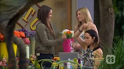 Paige Novak, Amber Turner, Imogen Willis in Neighbours Episode 7134