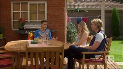 Josh Willis, Amber Turner, Daniel Robinson in Neighbours Episode 7134
