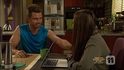 Mark Brennan, Paige Smith in Neighbours Episode 7135