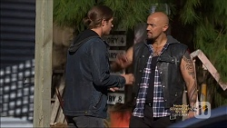 Tyler Brennan, Michael Coluzzi in Neighbours Episode 7135