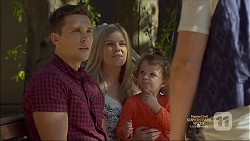 Josh Willis, Amber Turner, Nell Rebecchi, Daniel Robinson in Neighbours Episode 7135
