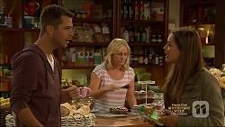 Mark Brennan, Lauren Turner, Paige Smith in Neighbours Episode 7135