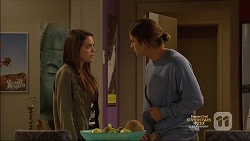 Paige Novak, Tyler Brennan in Neighbours Episode 7136
