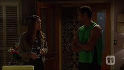Paige Novak, Nate Kinski in Neighbours Episode 7136