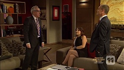 Craig Quill, Naomi Canning, Paul Robinson in Neighbours Episode 7137