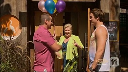 Toadie Rebecchi, Sheila Canning, Kyle Canning in Neighbours Episode 7138