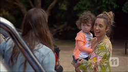 Amy Williams, Nell Rebecchi, Sonya Mitchell in Neighbours Episode 7138