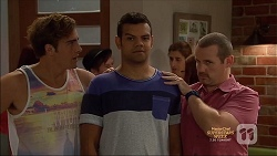 Kyle Canning, Nate Kinski, Toadie Rebecchi in Neighbours Episode 7138