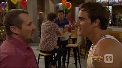 Toadie Rebecchi, Brett Holden, Nate Kinski, Kyle Canning in Neighbours Episode 7138