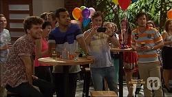 Brett Holden, Nate Kinski, Kyle Canning in Neighbours Episode 7138