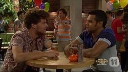 Alistair Hall, Sam Myers, Nate Kinski in Neighbours Episode 7138
