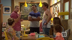 Sonya Mitchell, Toadie Rebecchi, Nate Kinski, Kyle Canning, Amy Williams, Nell Rebecchi in Neighbours Episode 7138