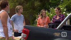 Kyle Canning, Daniel Robinson, Sonya Mitchell, Amy Williams in Neighbours Episode 7139