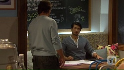 Brad Willis, Robin Dawal in Neighbours Episode 7139