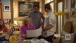 Lauren Turner, Brad Willis, Toadie Rebecchi in Neighbours Episode 7140