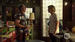 Karl Kennedy, Daniel Robinson in Neighbours Episode 7140