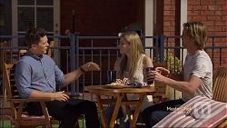Josh Willis, Amber Turner, Daniel Robinson in Neighbours Episode 7140