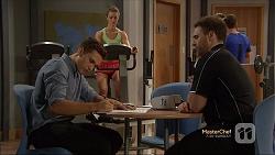 Josh Willis, Forrest Jones in Neighbours Episode 7140