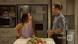 Imogen Willis, Josh Willis in Neighbours Episode 7141