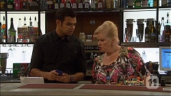 Nate Kinski, Sheila Canning in Neighbours Episode 7141