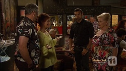 Karl Kennedy, Susan Kennedy, Nate Kinski, Sheila Canning in Neighbours Episode 7141