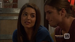 Paige Novak, Tyler Brennan in Neighbours Episode 7141