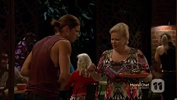 Tyler Brennan, Sheila Canning in Neighbours Episode 7141