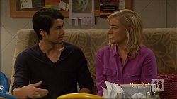Robin Dawal, Lauren Turner in Neighbours Episode 7142