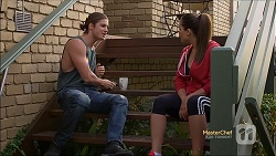 Tyler Brennan, Paige Smith in Neighbours Episode 7142