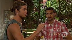 Tyler Brennan, Nate Kinski in Neighbours Episode 7142
