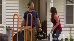 Barry Dickson, Amy Williams in Neighbours Episode 7142