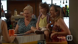 Sheila Canning, Nell Rebecchi, Sonya Mitchell in Neighbours Episode 7143