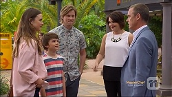 Amy Williams, Jimmy Williams, Daniel Robinson, Naomi Canning, Paul Robinson in Neighbours Episode 7143