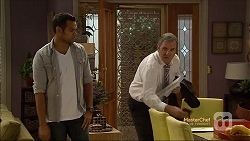 Nate Kinski, Karl Kennedy in Neighbours Episode 7143