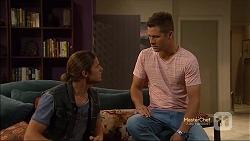 Tyler Brennan, Mark Brennan in Neighbours Episode 7143