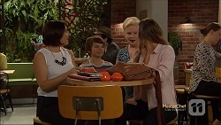 Naomi Canning, Jimmy Williams, Sheila Canning, Amy Williams in Neighbours Episode 7143