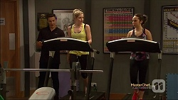 Josh Willis, Amber Turner, Imogen Willis in Neighbours Episode 7144